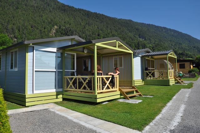 Camping Bungalows and Wooden igloos - Switzerland