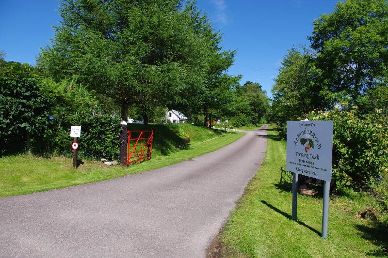 Achindarroch Touring Park - Argyll and Bute, Scotland